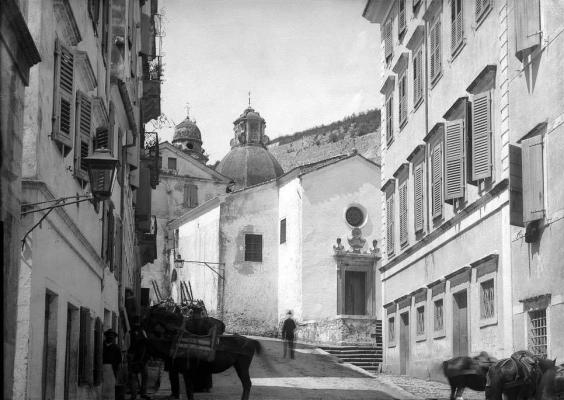 Ο Ιερός Ναός της Παναγίας της Τενέδου το 1892