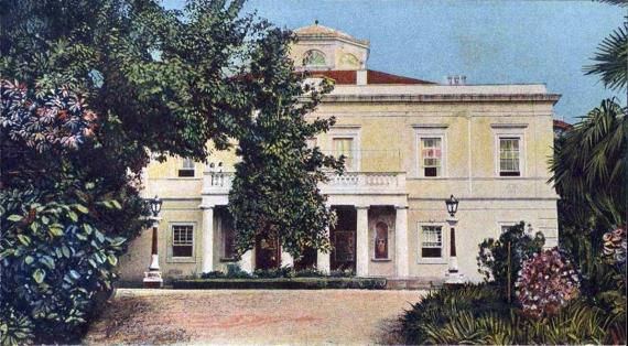 Άποψη Μον Ρεπό στις αρχές του 20ου αιώνα